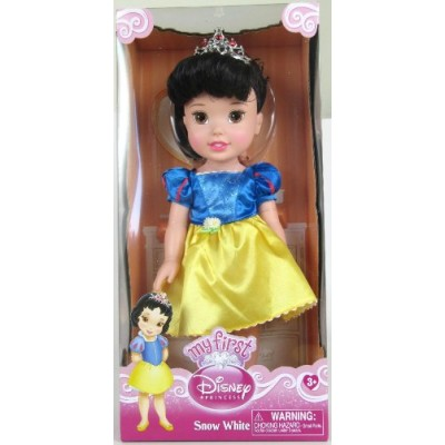 "13"" Disney Princess Toddler Doll - Snow White (Styles May Vary)"