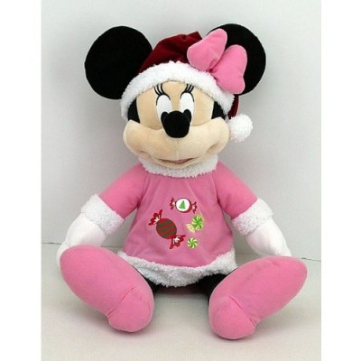 21 Inch Disney Pink Minnie Mouse Plush Christmas Holiday Decor