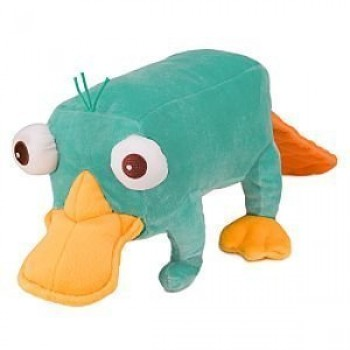 24 Inch Perry Plush Toy - Jumbo Size Phineas and Ferb Plush Doll
