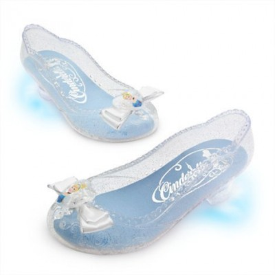 Cinderella Light-up Shoes Size 9/10