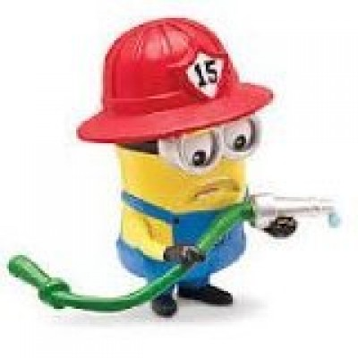 Despicable Me 2 - Minion Fireman - Posable Figure