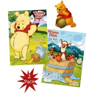 Disney® Winnie the Pooh Big Fun Book to Color (Set of 2)