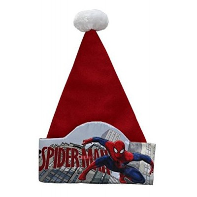 Disney 17in Marvel Spider Man Super Hero Santa Hat