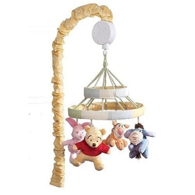 Disney Baby Peeking Pooh and Friends Musical Mobile
