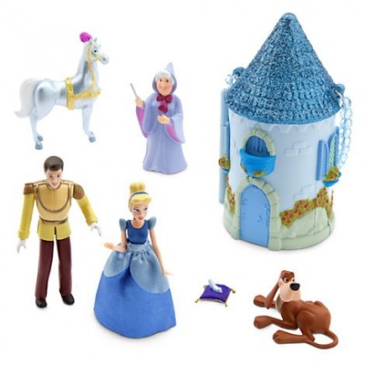 Disney Cinderella Mini Castle Play Set