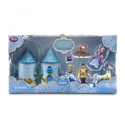Disney Cinderella Mini Castle Play Set