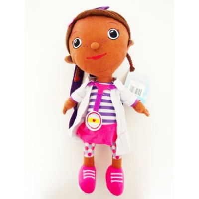 "Disney Doc Mcstuffins Figural Plush Doll Plush Backpack 16"" New - Great Gift for Kids"