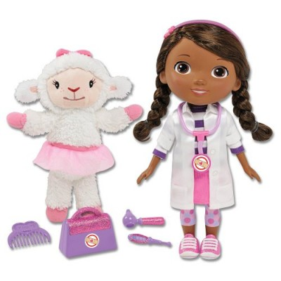 Disney Doc McStuffins Time for Your Checkup Interactive Talking Doll + Lambie Plush Doll
