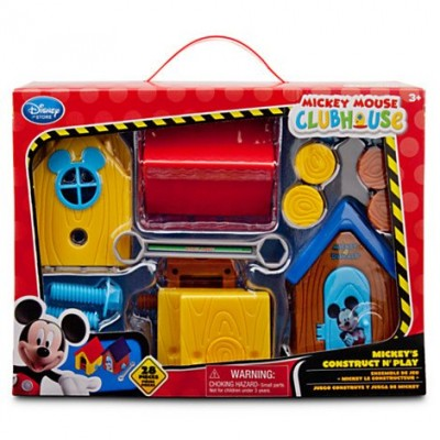 Disney Exclusive Mickey Mouse Clubhouse Playset Mickeys Construct N Play