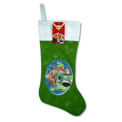 "Disney Felt Christmas Stocking with Patch & Hangtag 18"" Long (Toy Story)"