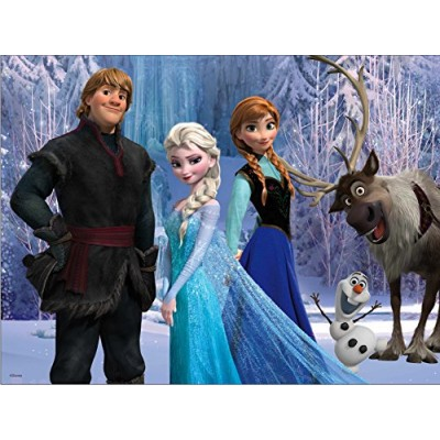 Disney Frozen Lenticular Puzzle (48-Piece) Styles Will Vary