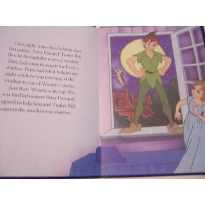 """Disney Hardcover Classics ~ Peter Pan (5.25"""" x 7.25""""; 2012)"""