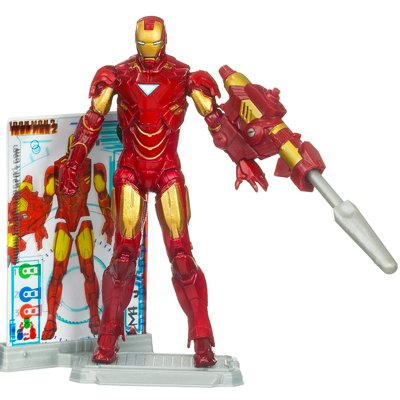 Disney Iron Man Mark VI Iron Man 2 Action Figure -- 4