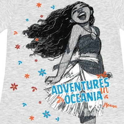 Disney Moana Girls' Moana T-Shirt 6