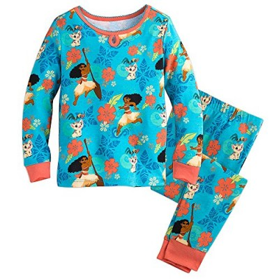Disney Moana PJ PALS Pajamas for Girls Size 5