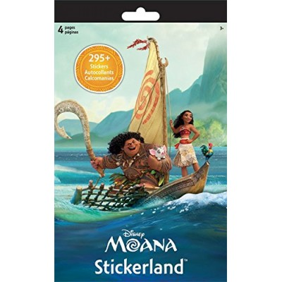 Disney Moana Reward Stickers Over 295 Stickers