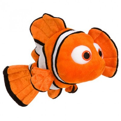 "Disney Nemo Mini Bean Bag Plush - Small - 9"""