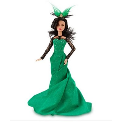"Disney Oz the Great & Powerful Evanora Wicked Witch of the East Doll -- 11 1/2"" H"