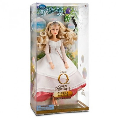 "Disney Oz the Great & Powerful Glinda the Good Doll -- 11 1/2"" H"