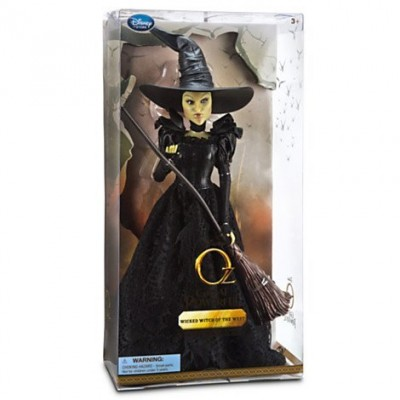 "Disney Oz The Great and Powerful - Wicked Witch of the West Doll - 11 1/2"" H"