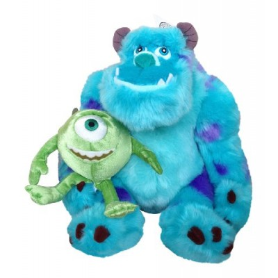 Disney Park Sulley and Mike From Monsters Inc Plush Doll