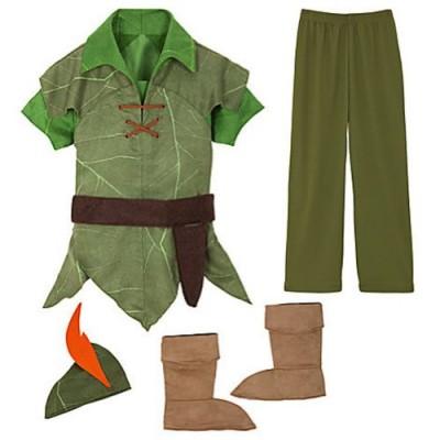 Disney Peter Pan Costume Authentic (S 5-6 Small)