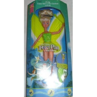 Disney Peter Pan Flying Tinker Bell Doll ~ 1993