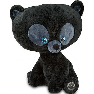 Disney / Pixar BRAVE Movie Exclusive DELUXE Plush Harris 13 Inch - Curious Cub Sitting Leaning Forward