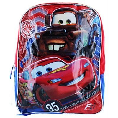 """Disney Pixar Cars 14"""" Backpack - 'Formula Racer'"""