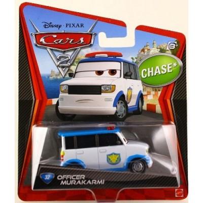 Disney Pixar Cars 2 OFFICER MURAKARMI Chase