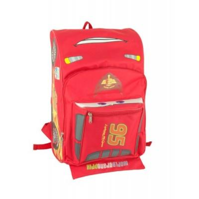 "Disney Pixar Cars Lightning Mcqueen 16"" backpack Face"