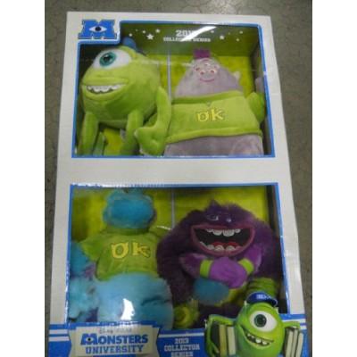 Disney Pixar Monsters University 2013 4 Pc Collector Series Plush