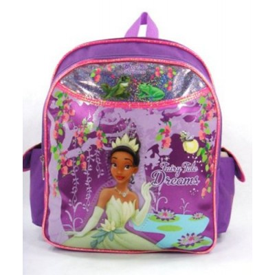"Disney Princess and the Frog - Evening Star - 12"" Toddler Size Backpack"