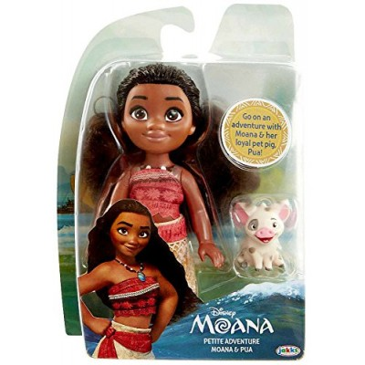 Disney Princess Petite Adventure Moana and Pua Doll