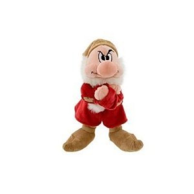 Disney Princess Snow White Grumpy of the Seven Dwarfs 11 Inch Plush