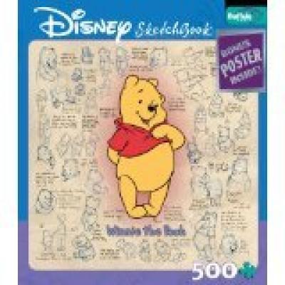 Disney Sketchbook: Winnie the Pooh 500 piece puzzle