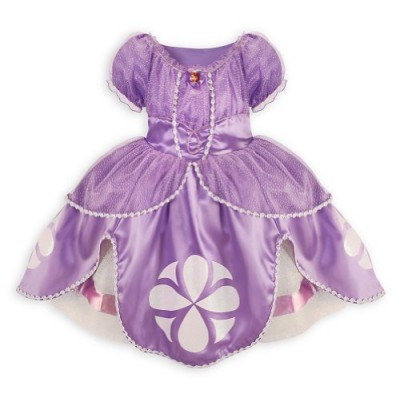 Disney Sofia the First Dress Costume for Girls Small 5 / 6 Sophia