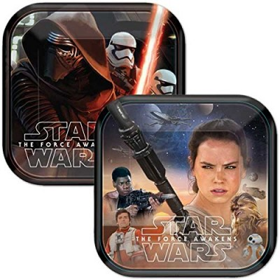 Disney Star Wars Dessert Paper Plates (24 Count)