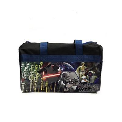 Disney Star Wars the Force Awakens 600d Polyester Duffle Bag with Printed PVC Side Panels