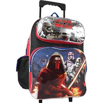 "Disney Star Wars the Force Awakens Large 16"" Rolling Backpack"