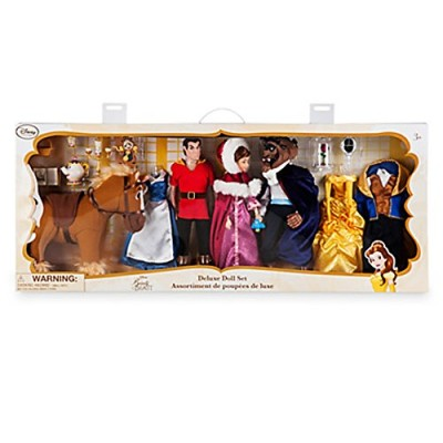Disney Store Beauty and the Beast Deluxe Doll Gift Set