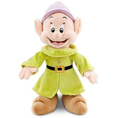 "Disney Store Snow White and the Seven Dwarfs 11"" Dopey Plush Doll"