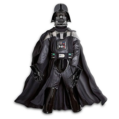 Disney Store Star Wars The Force Awakens Darth Vader Costume Size 7/8