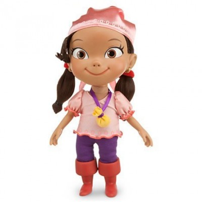"Disney Talking Izzy Neverland Pirates Doll 12"" H - Says 14 Phrases"