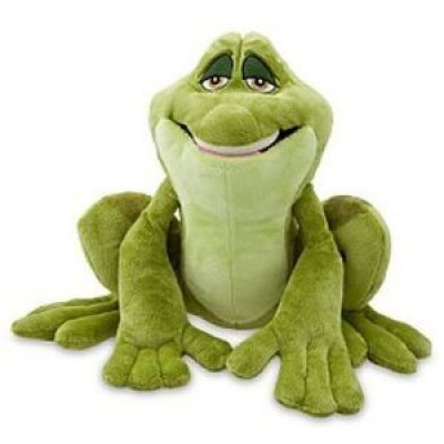 Disney The Princess and the Frog Prince Naveen as Frog Plush Toy -- 12''