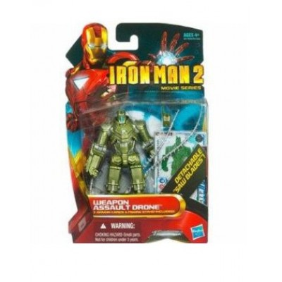 Disney Weapon Assault Drone Iron Man 2 Action Figure -- 4''