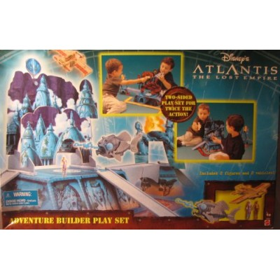 Disneys Atlantis: The Lost Empire Adventure Builder Play Set
