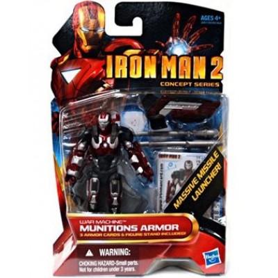 Marvel Iron Man 2 Movie Figure War Machine Munitions Armor #19