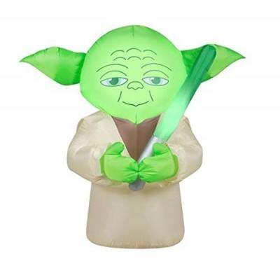 Star Wars Yoda Airblown Inflatable, 4.5 feet