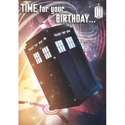 Official Doctor Who Birthday Card With Recorded Message By Daleks
